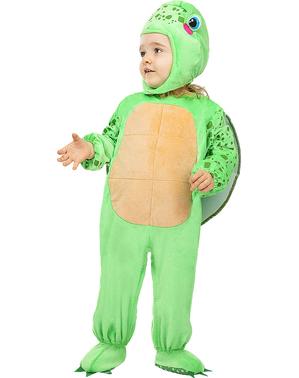 Fato de tartaruga para bebé
