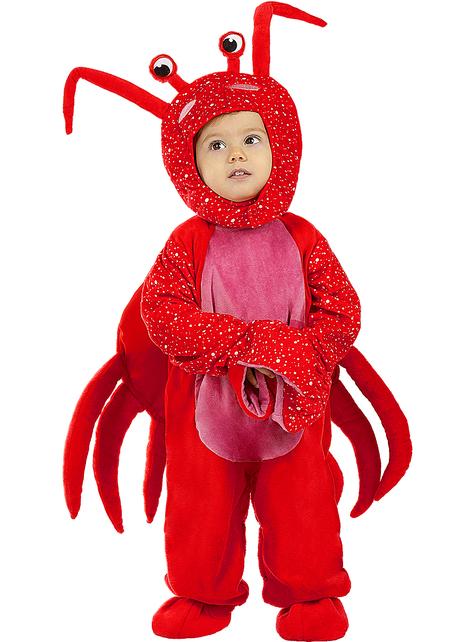 Strój Krab dla niemowląt