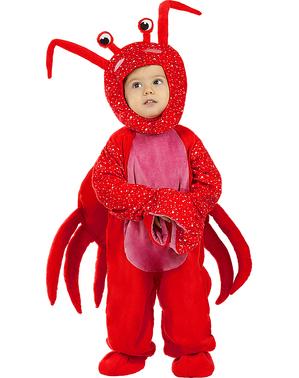 Fato de caranguejo para bebé