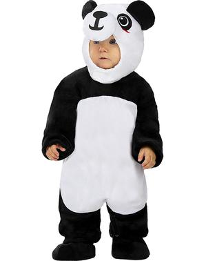 Costum panda pentru bebeluși