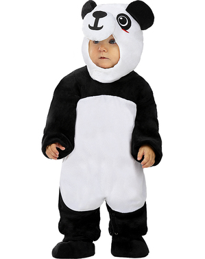 Strój Panda dla niemowląt