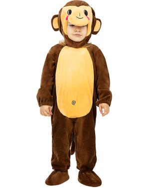 Kostým opičky pre malé deti