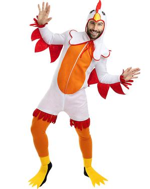 Kostým kuře pro dospělé