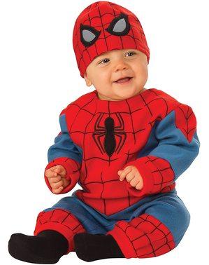 Disfraz de Spiderman para bebé