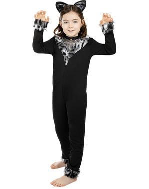 Kostým mačky pre dievčatá