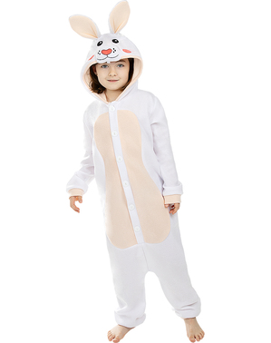 Costume da coniglio onesie per bambini