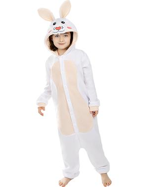 Kigurumi Kanin Maskeraddräkt för barn