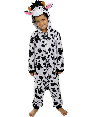 Onesie Cow Costume for Kids