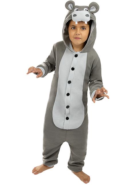 Strój Onesie Hipopotam dla dzieci