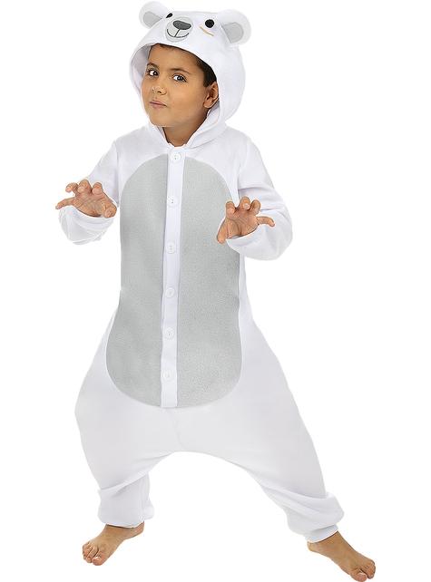Strój Onesie Niedźwiedź Polarny dla dzieci