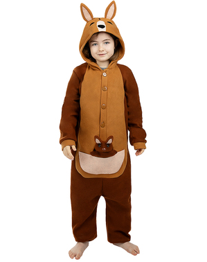 Onesie Kangaroo Costume for Kids
