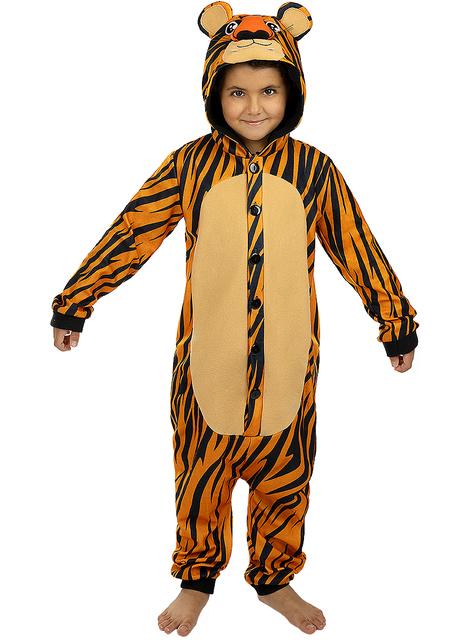 Onesie Tiger Costume for Kids