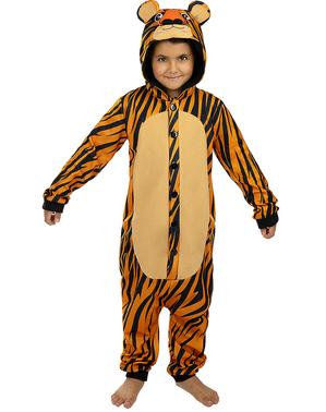 Onesie tijger kostuum voor kinderen