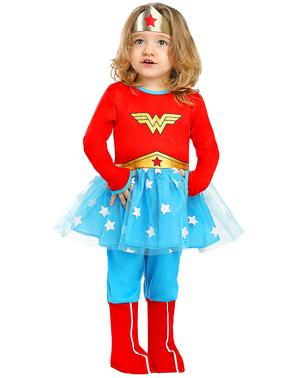 Disfraz de Wonder Woman para bebé