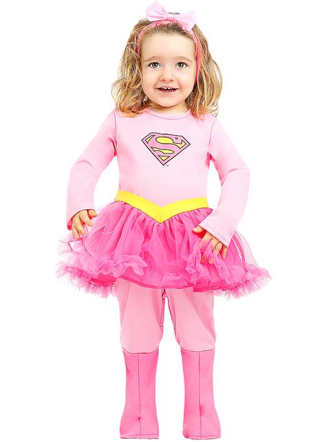 Supergirl kostuum voor baby's
