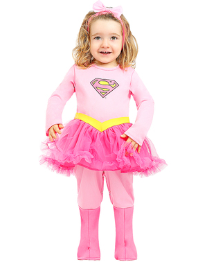 Supergirl Kostüm für Babys