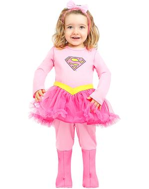 תחפושת סופרגירל לתינוקות