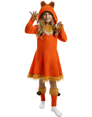 Детски костюм на лисица за момичета