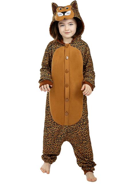 Déguisement léopard onesie enfant
