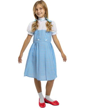 Dorothy Kostyme til Jenter - Trollmannen fra Oz