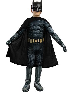 Batman Kostüm deluxe für Kinder - Gerechtigkeitsliga