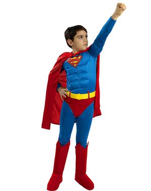 Costum Deluxe Superman pentru băieți