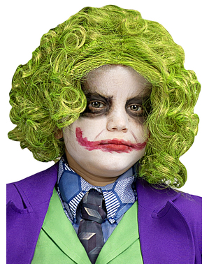 Peruca de Joker para menino