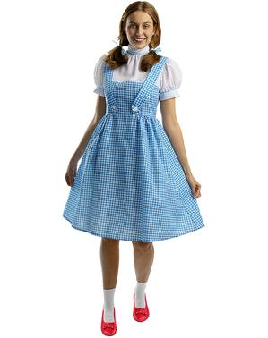 Dorothy Kostyme Plusstørrelse - Trollmannen fra Oz