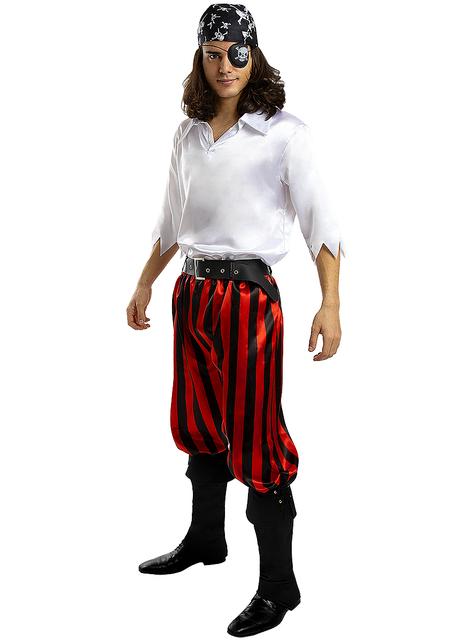 Disfraz de pirata para hombre talla grande - Colección bucanero