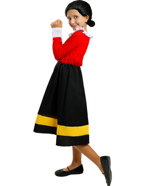 Olive kostyme til Jenter - Popeye