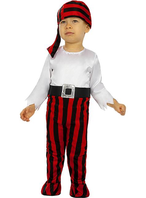 Strój Pirat dla małych chłopców - Kolekcja Korsarska