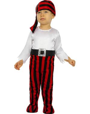 Costume da pirata per bebè bimbo - Collezione bucaniere