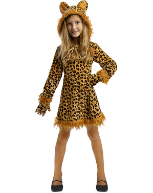 Disfraz de Leopardo para niña