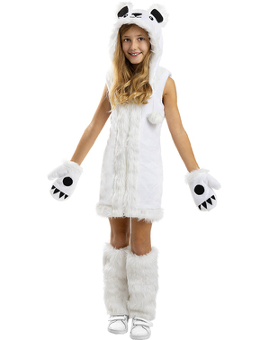 Polar Bear Costume for Girls