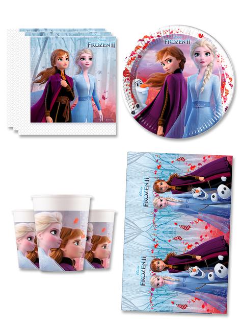 Decoración cumpleaños Frozen 8 personas