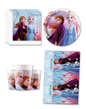 Frozen verjaardagsdecoratie voor 8 personen