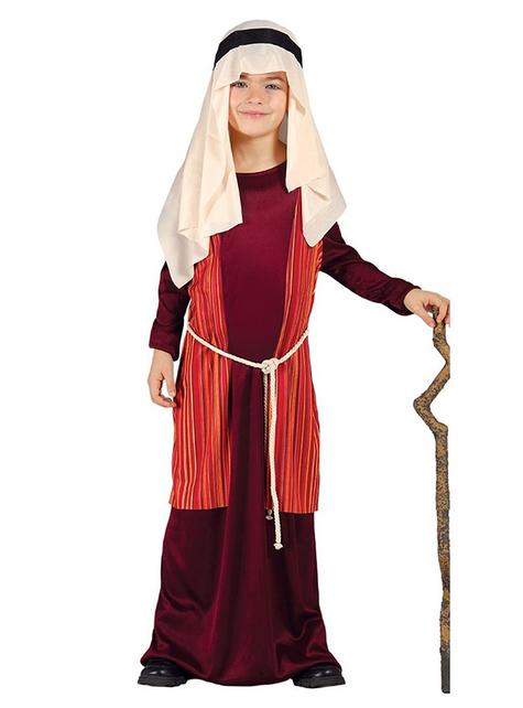 Boys Red Joseph Costume