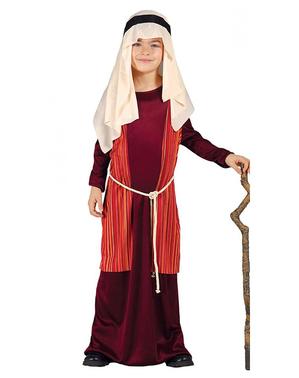 Costume da San Giuseppe rosso da bambino