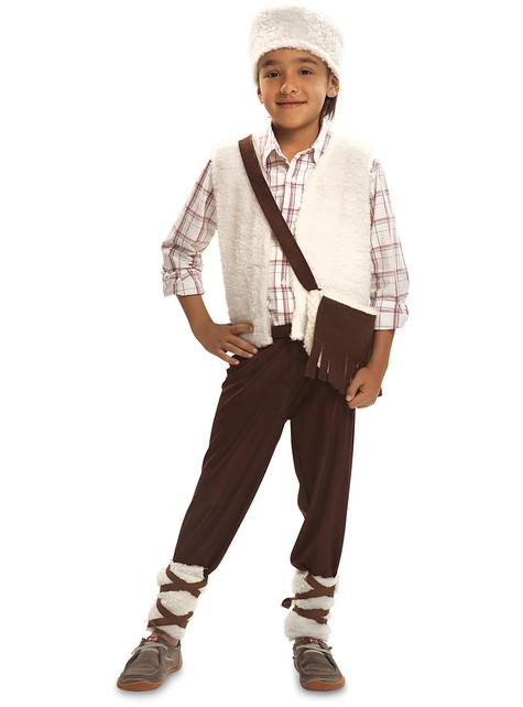 Disfraz de pastor amable para niño