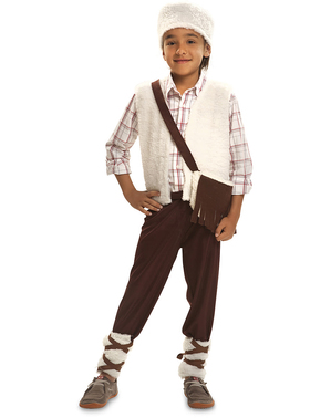 Friendly shepherd costume for kids