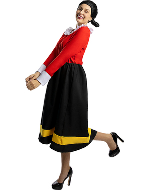 Olive-kostyme - Popeye