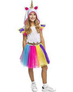 Enhjørning Kostyme til Jenter