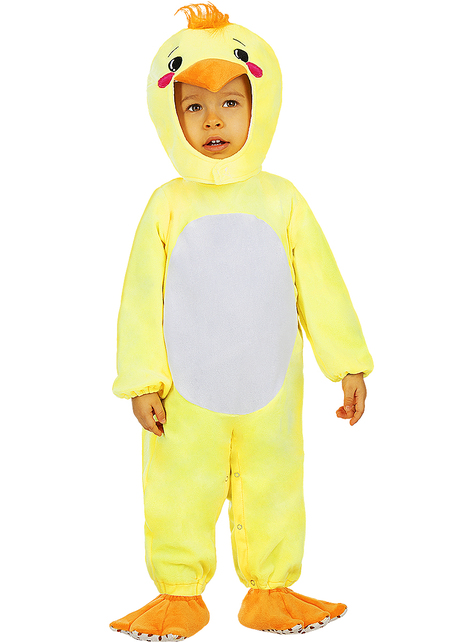 Disfraz de pollito para bebé