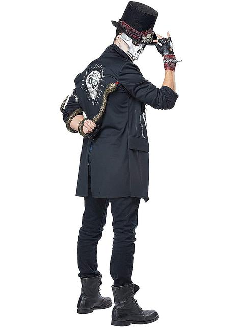 Voodoo Skeleton Costume for Men