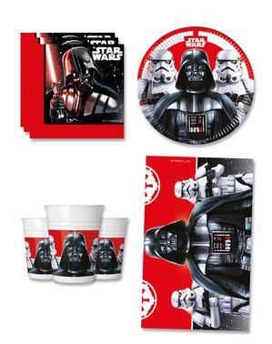 Decor de ziua de naștere Star Wars 8 persoane - Final Battle