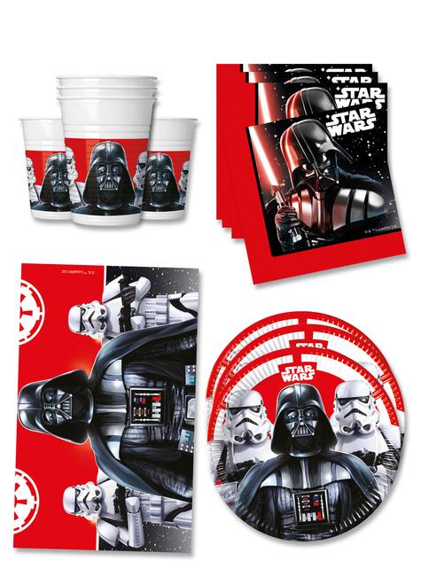 Decoración fiesta de cumpleaños Star Wars 16 personas - Final Battle