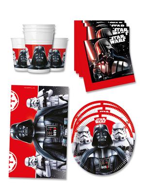 Kit compleanno Star Wars 16 persone premium