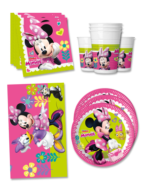 Decorațiune de ziua Minnie Mouse Junior 16 persoane