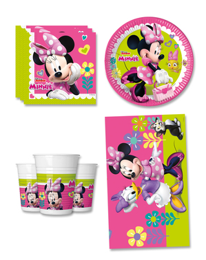 Decorazioni compleanno Minnie Mouse Junior 8 persone