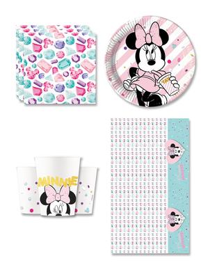 Minnie Party Gem syntymäpäiväkoristeet 8 hengelle